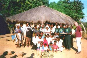 Christadelphians and villagers at Mbereshi